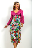 Let's Grow Wild - Dress In PINK/FLORAL