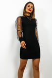 We've Been Spotted - Dress In BLACK/MULTI
