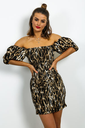 Wild Desire - Dress In LEOPARD