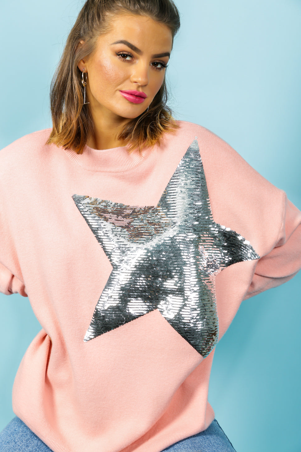 Born To Be A Star - Jumper In PINK