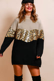 It's A Knit - Jumper In CREAM/SEQUIN