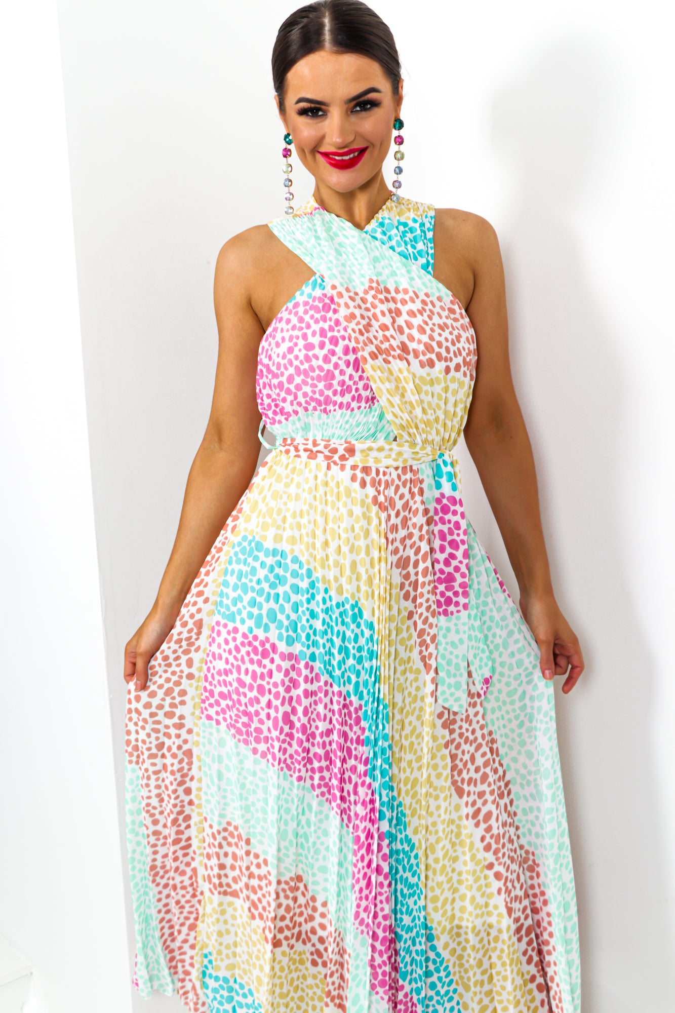 Artemis - Dress In MULTI/SPOT