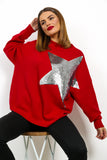 Born To Be A Star - Jumper In RED