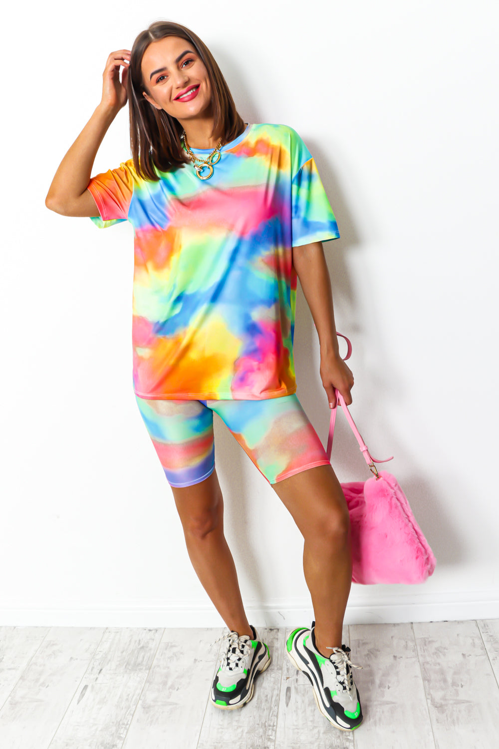 Bright Ideas - Co-ord In MULTI/TIE-DYE