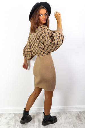 Brunch Date - Beige Chain Co-ord