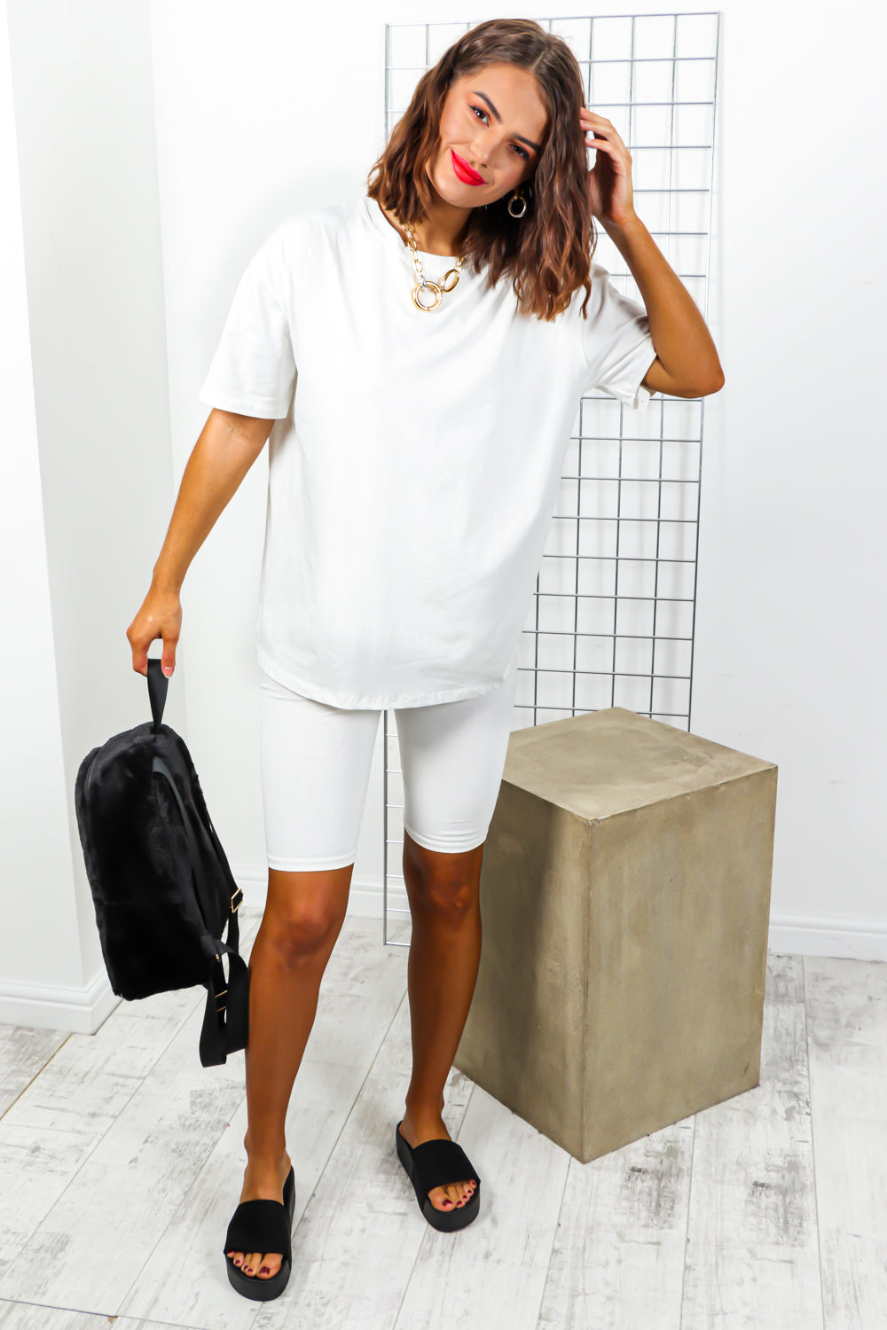 Simple Things - Co-ord In WHITE