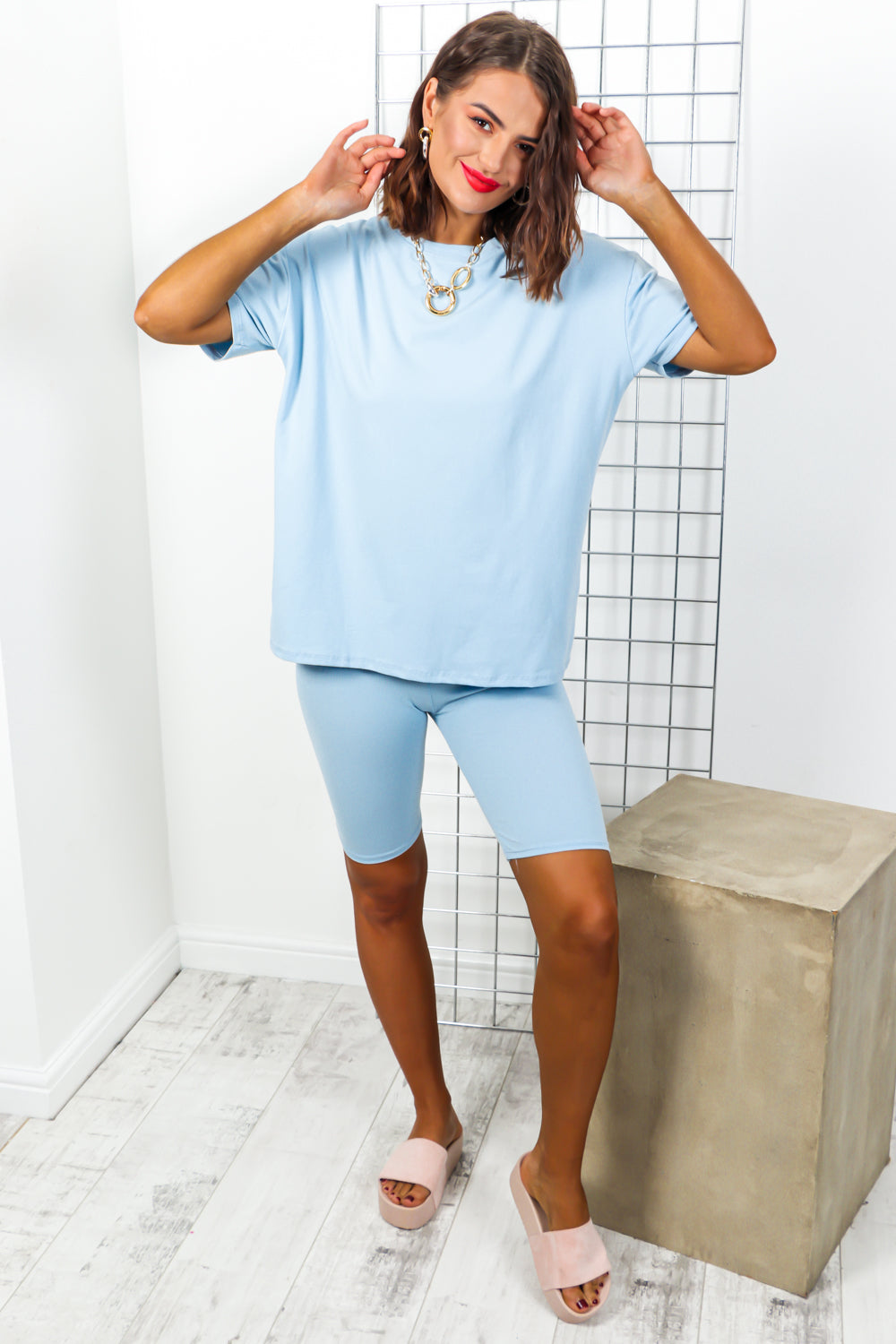 Simple Things - Co-ord In SKY BLUE