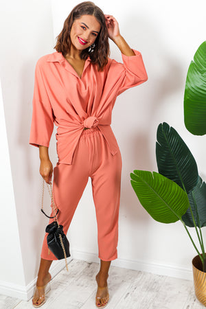 It's A Breeze - Co-ord In CORAL