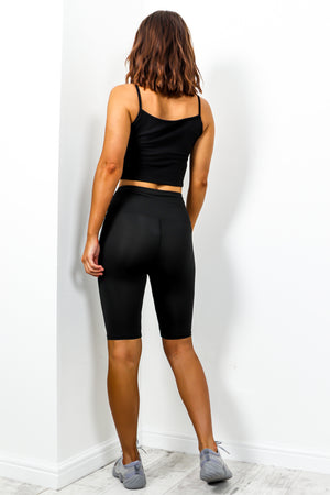Cycle shorts black - DLSB womens fashion