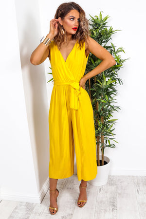 Sunshine - Jumpsuit In YELLOW