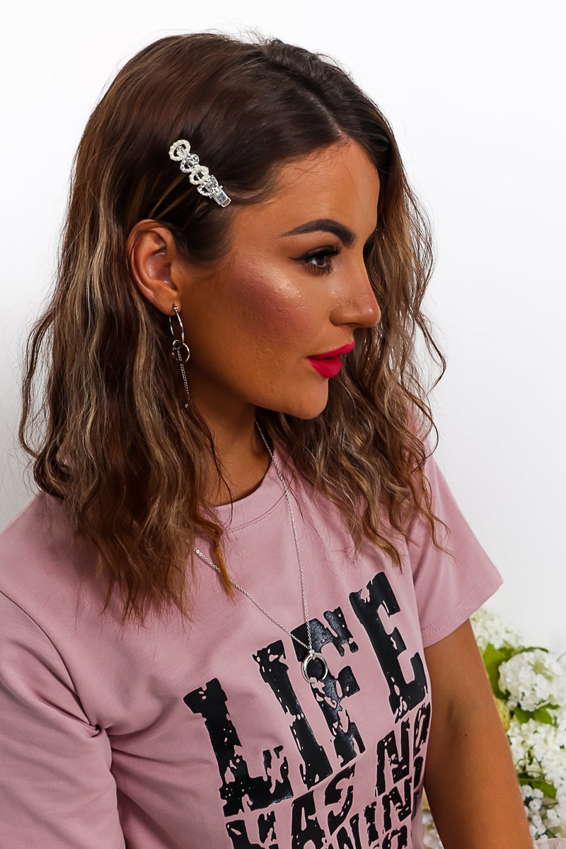 Good Girl - Hairclip In SILVER