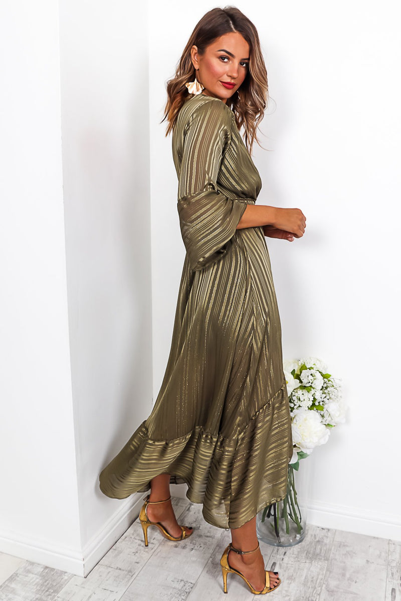 Mademoiselle - Maxi Dress In KHAKI