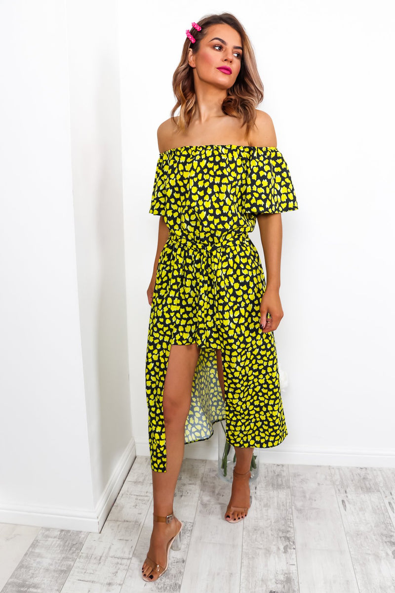 You Need This Number YELLOW/LEOPARD