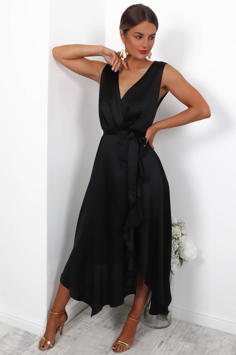 How Frilling - Dress In BLACK
