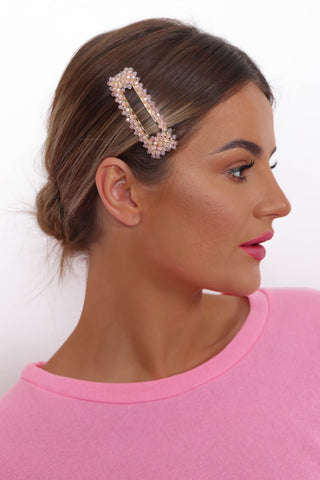 Cupids Bow - Clip In PINK