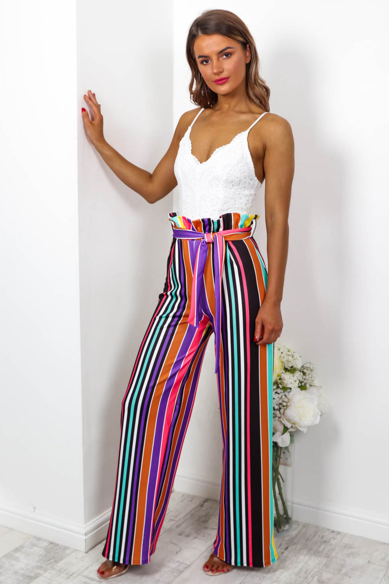Candy Girl - Trousers In MULTI - DLSB