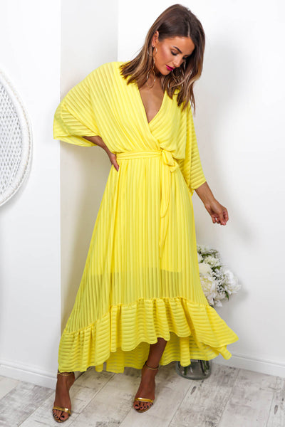 Dolce Vita   Maxi Dress In Yellow by Dlsb