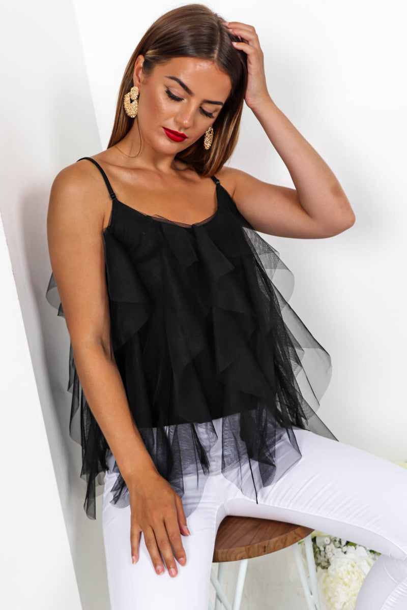 Meshing Around - Mesh Top In BLACK