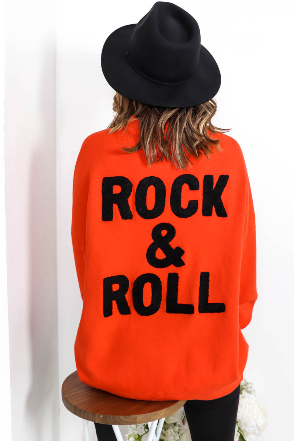 You're My Rock - Jumper In ORANGE