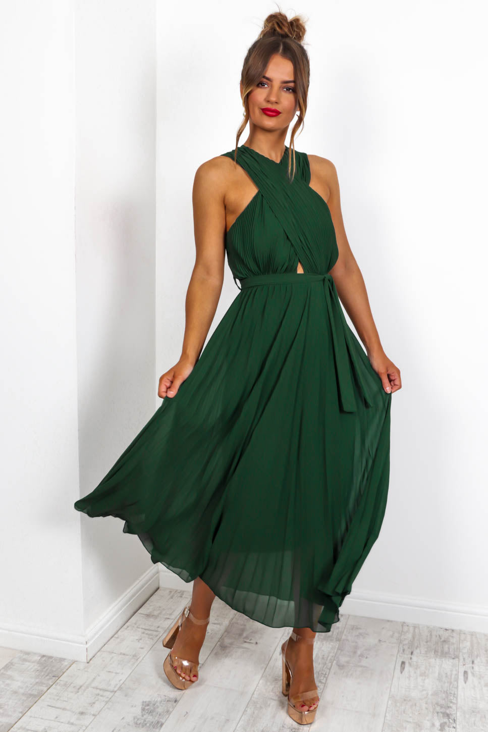 Artemis - Maxi Dress In FOREST