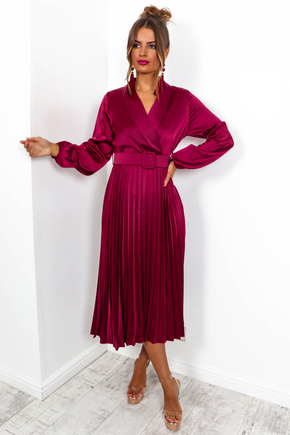 Norma Jean - Maxi Dress In WINE