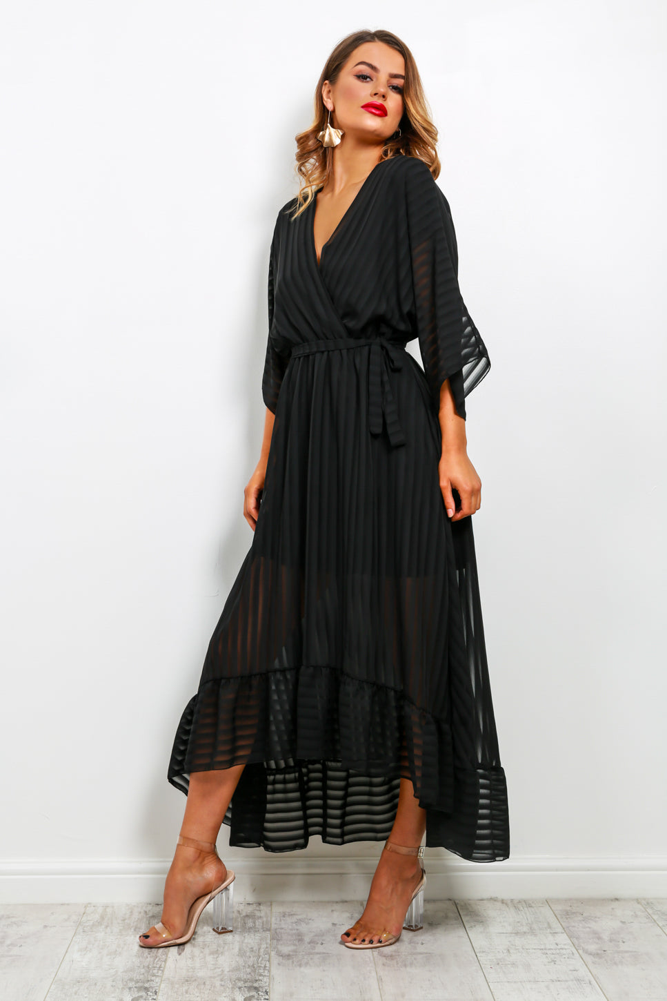 Dolce Vita - Black Midi Dress