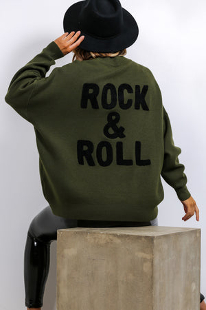You're My Rock - Jumper In KHAKI