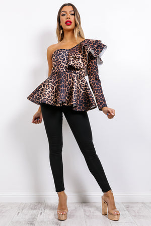 She's The One - Top In LEOPARD