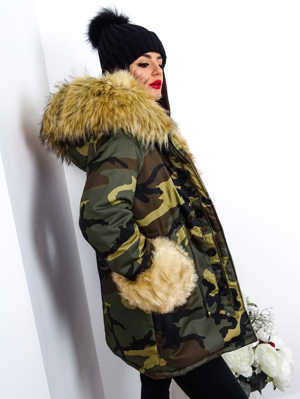 image 3 of Winter Is Coming CAMO/BEIGE