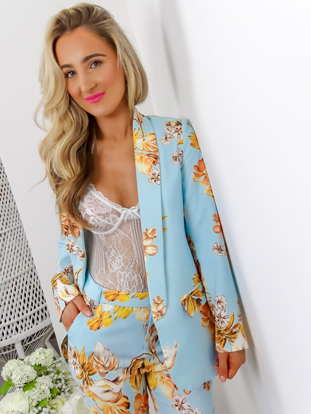 image 2 of Business And Pleasure JACKET/BLUE