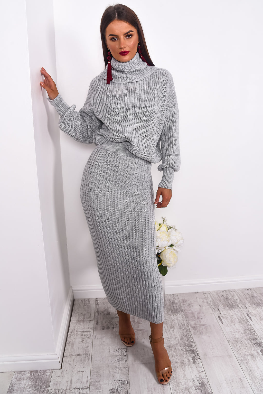It Takes Two... - Co-ord In GREY