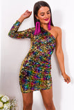 She's All That - Mini Dress In MULTI