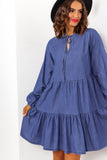 Denim Day Dream - Blue Smock Dress