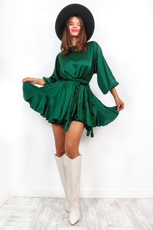 Drive You Crazy - Forest Mini Dress