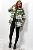 Editors Pick - Green Check Shacket