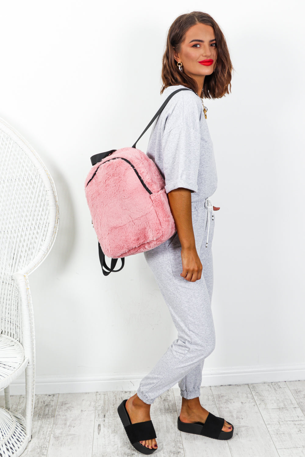 Love Me Back - Backpack In PINK
