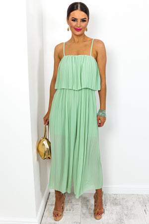 Got The Jump - Jumpsuit In MINT