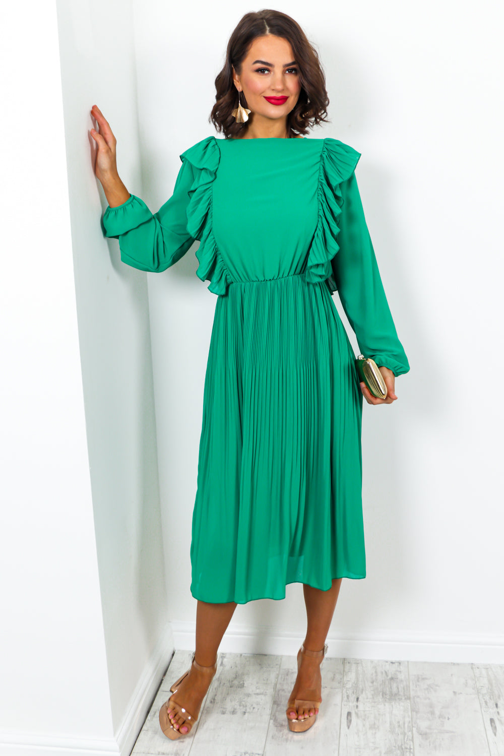 Grand Finale - Dress In GREEN