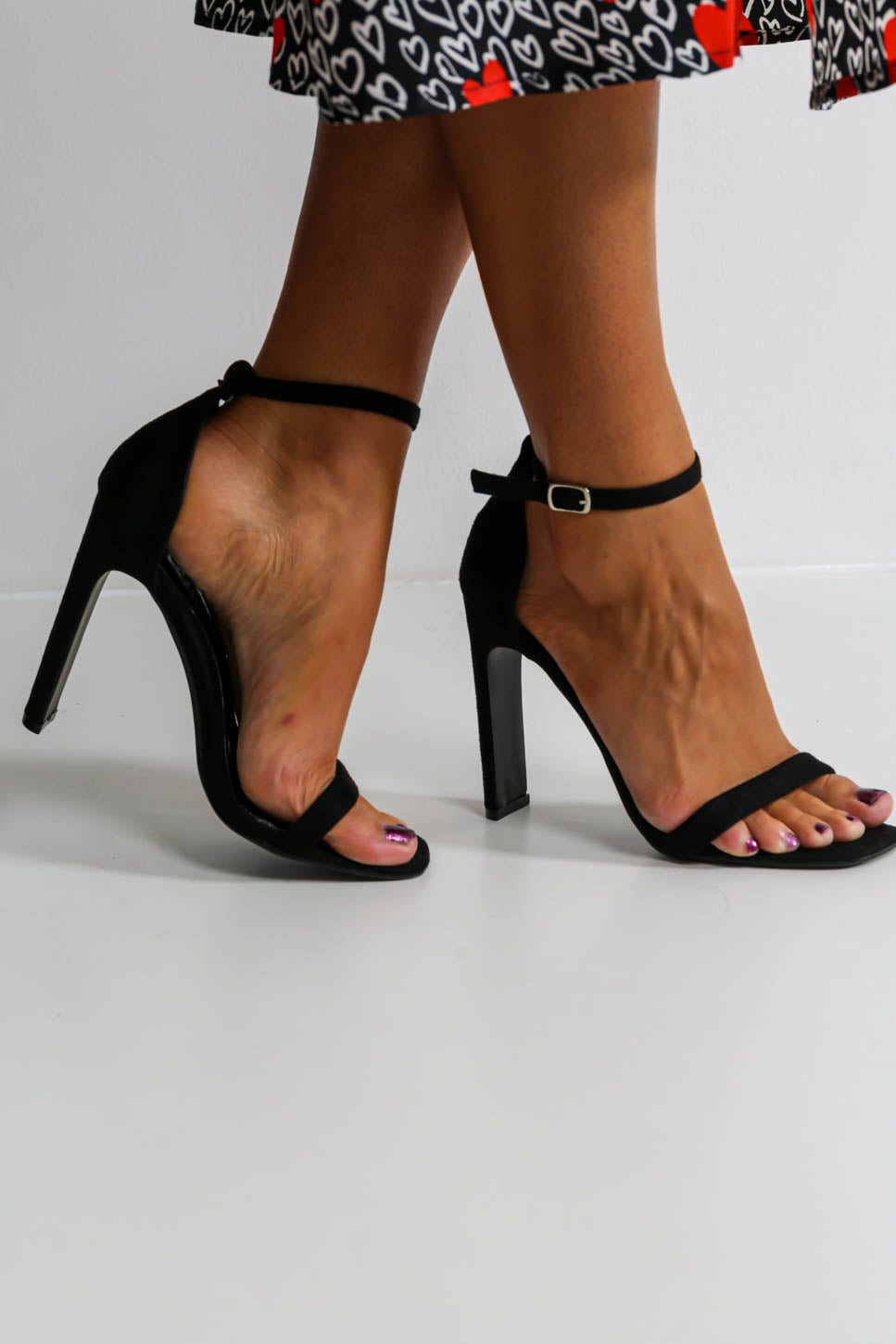 High There - Heels In BLACK