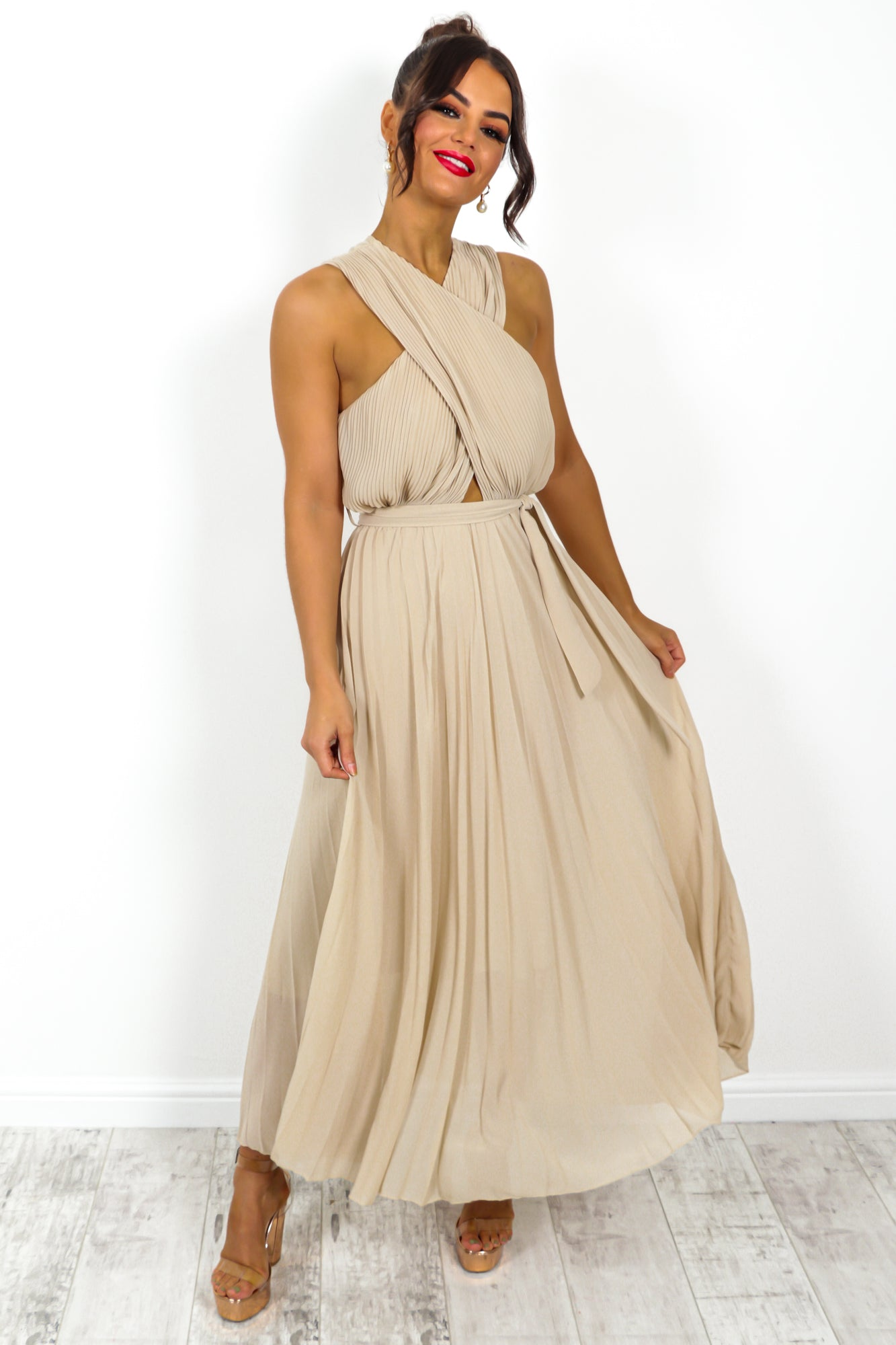 Artemis - Maxi Dress In CREAM