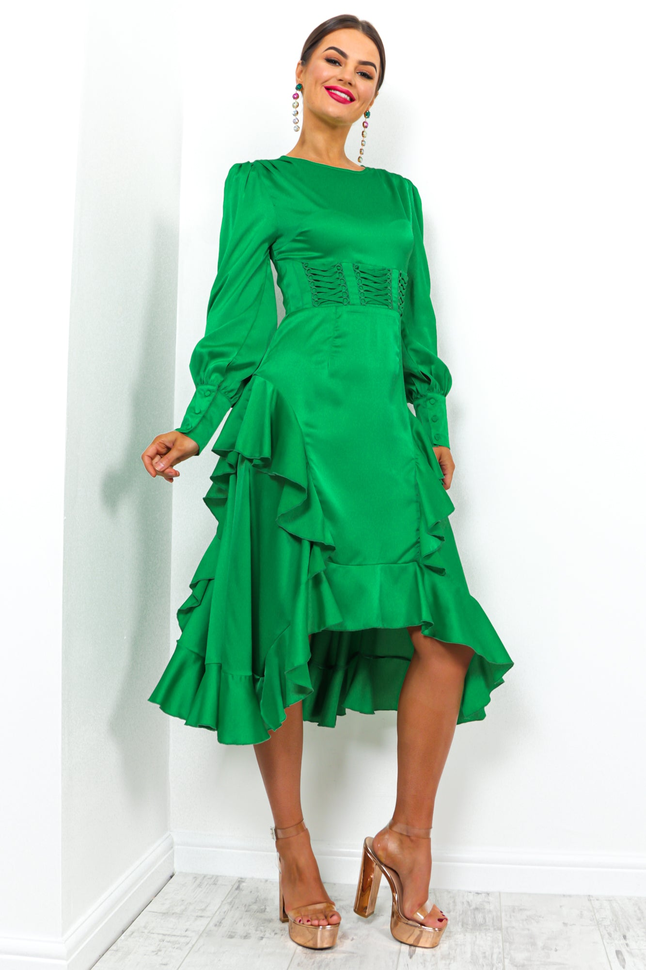 Million Dollar - Dress In GREEN