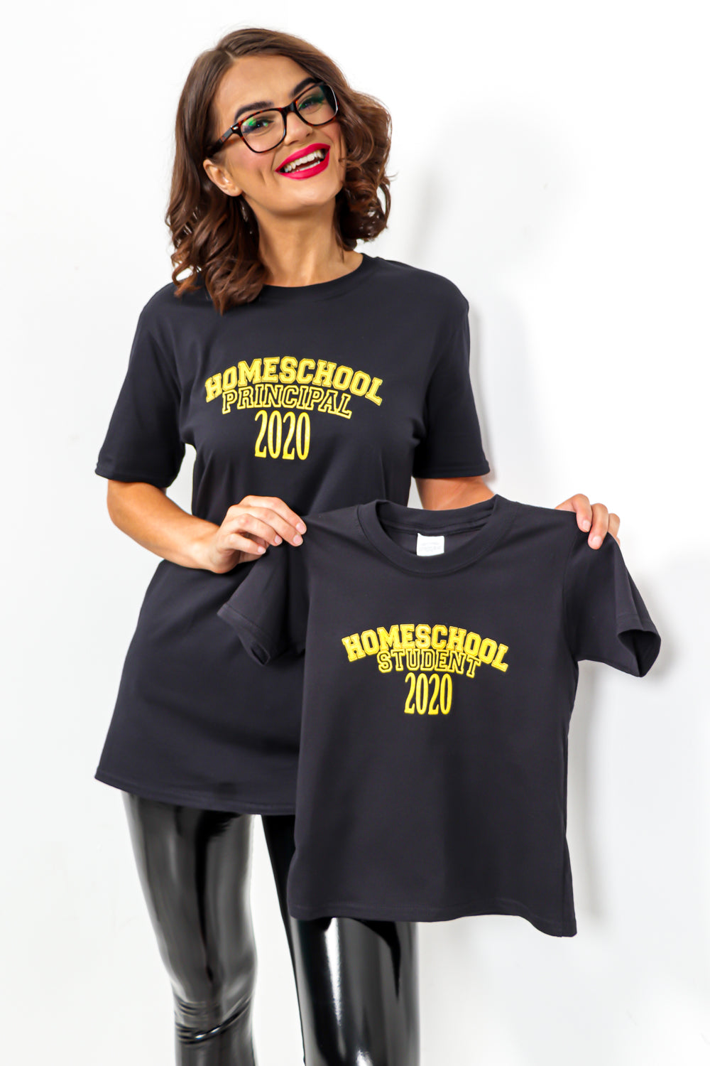 Home School Student 2020 - Children's T-shirt In BLACK