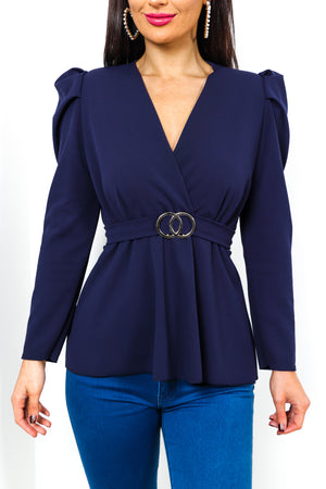 Take The Plunge - Top In NAVY