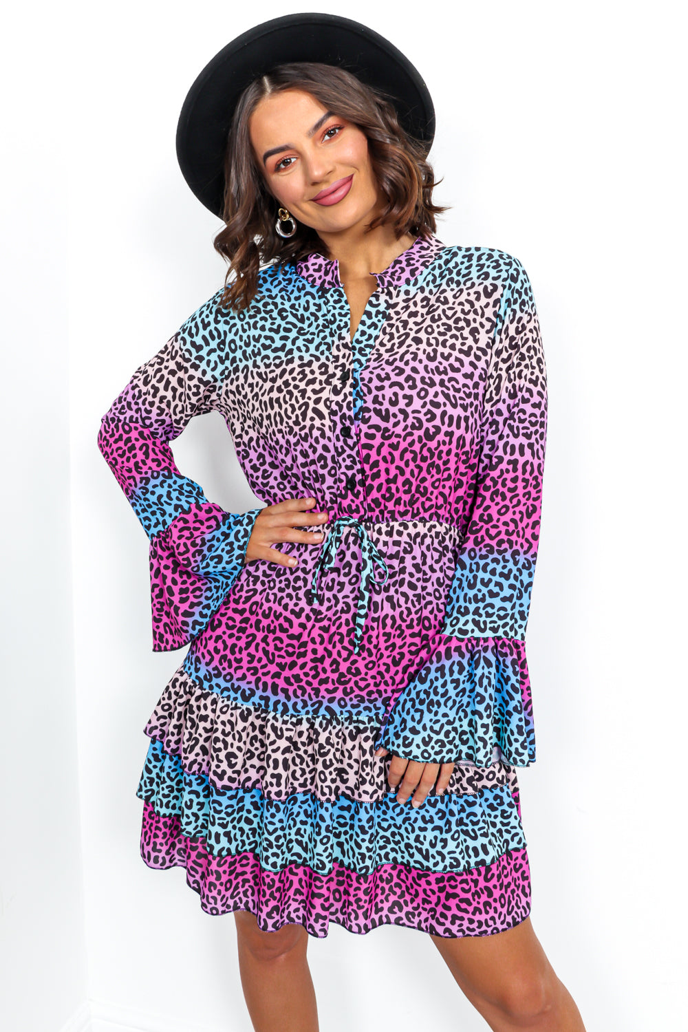 Animal Instincts - Dress In MULTI/LEOPARD