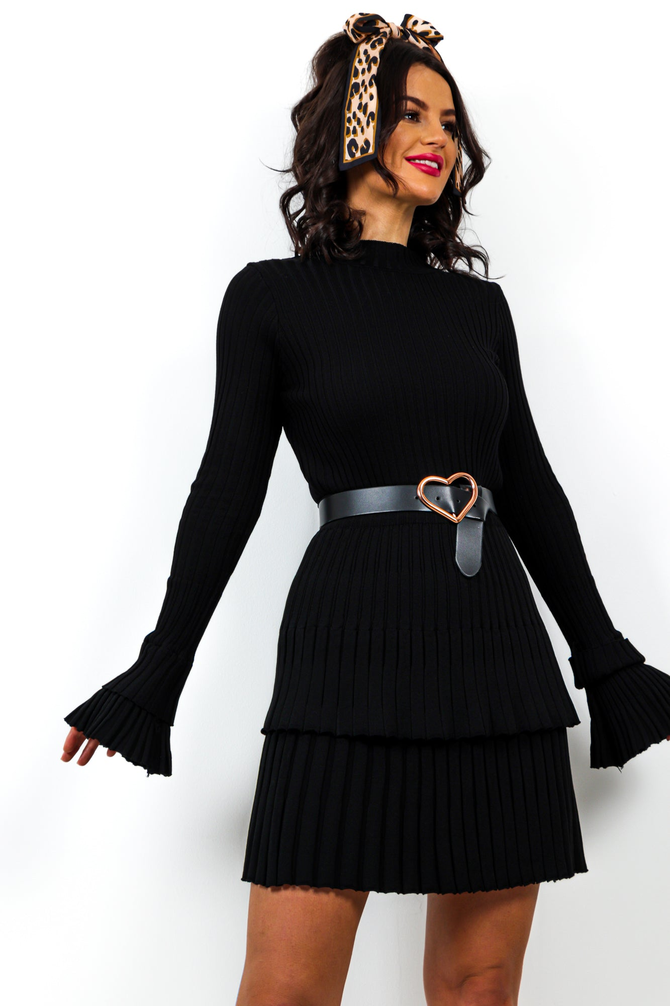 Double Tap - Co-ord In BLACK