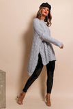 What's Knit to Love - Jumper In GREY
