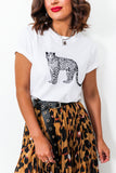 You're A Cheetah - T-shirt In WHITE