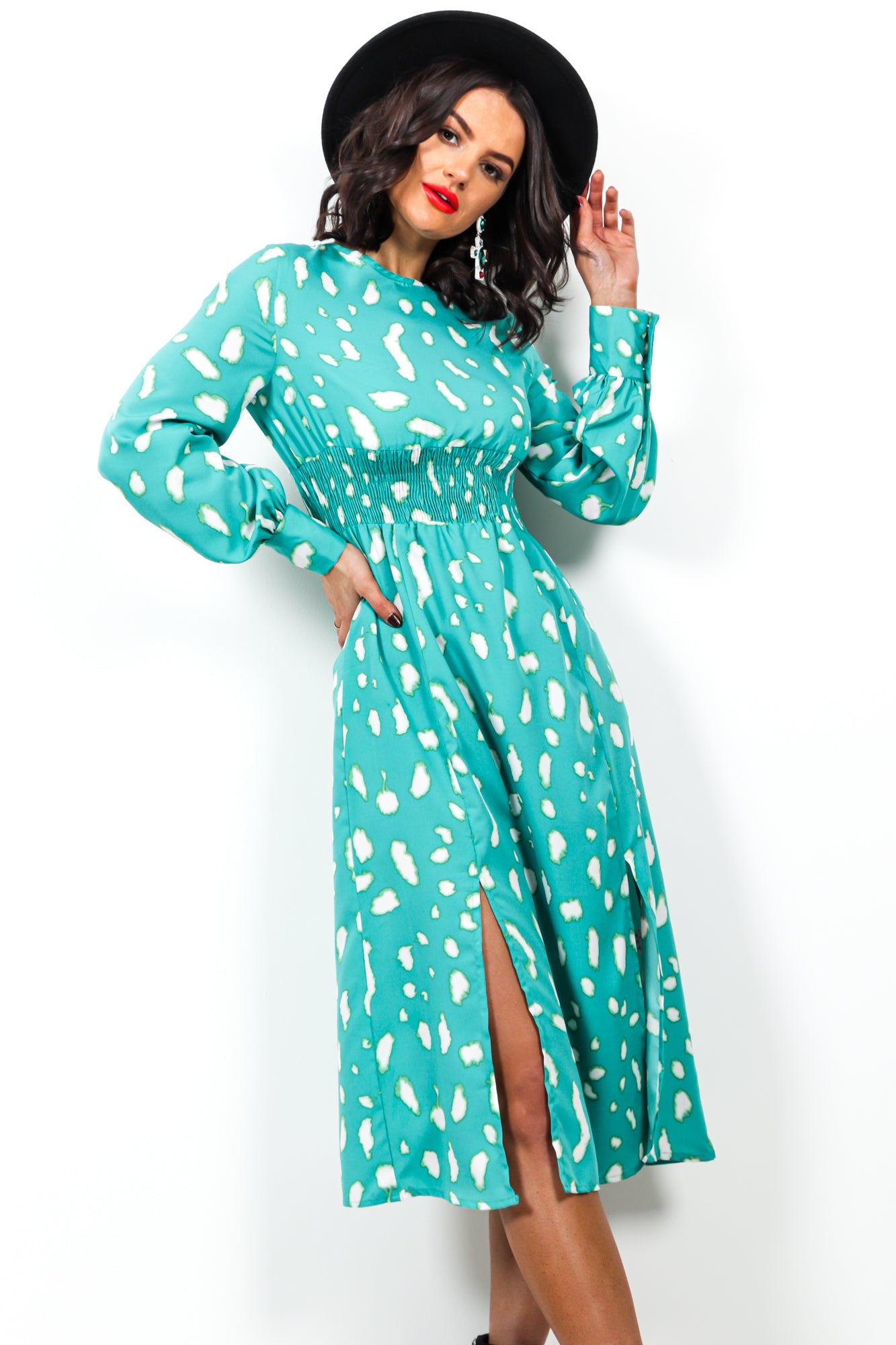 Wild Heart - Dress In TEAL