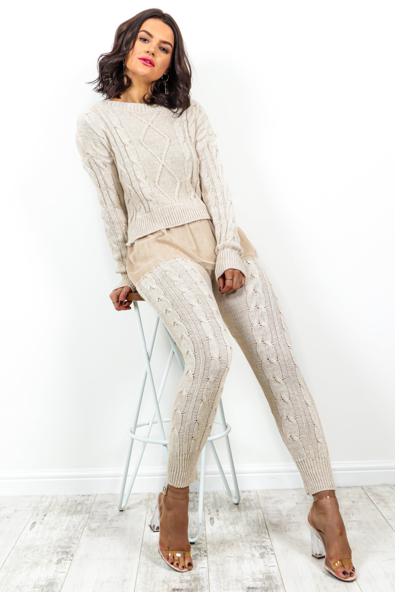 Lounge Around - Co-ord In OATMEAL