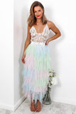 Fairytale - Midi Skirt In RAINBOW